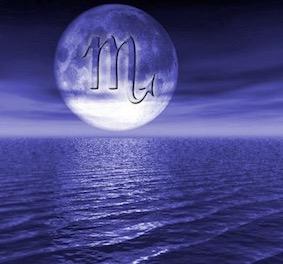 蠍座の満月