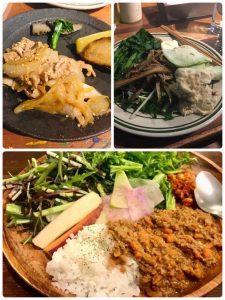 銀座の占い/春野菜のランチ STAND BY FARM