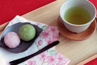 銀座の占い/おいしい緑茶