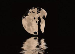 銀座の占い/魔女と月