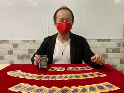 【銀座店】セミ・ドライと赤のマスク